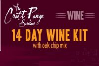 The Craft Range Sessions 14 Day Wine Kits, 30 Bottle
